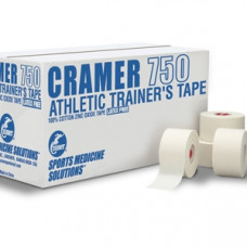 "Cramer 750 Athletic Trainers Tape 1.5"" x 45' (32 Rolls/cs)"