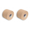 SpiderTech Original Elastic Kinesiology Made In Canada - Sports Tape Beige 2 Roll Pack
