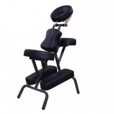 "Soozier 3"" Foam Portable Massage Chair - Black"