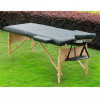 "Portable Massage Table - 2.5"" inch thick padding Black -5550-3162BK"