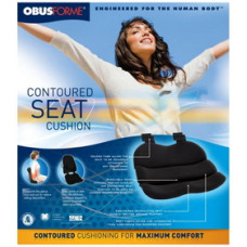 The Obus Forme Contoured Seat Cushion -ST-BLK-CBB