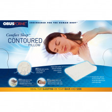 Obus Forme-Comfort Sleep Contoured Pillow-PL-COMFORT-SLCT