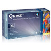 Aurelia Quest White Nitrile Powder Free Exam Gloves-1000/cs