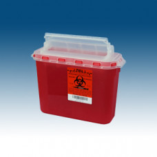 5.4 qt. BD Compatible Sharps Containers pack of 6