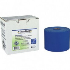 Thera-Band Latex-Free Resistance Band 50-Yard Roll - Blue Color -11729