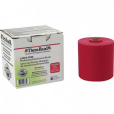 Thera-Band Latex-Free Resistance Band 25-Yard Roll - RED COLOR